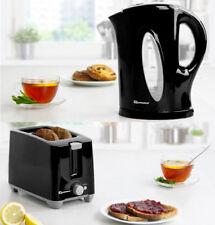 Bread Bin Set Avec Assorti Canister Set Tea Coffee Sugar Jar 4Pc Vert Menthe TM