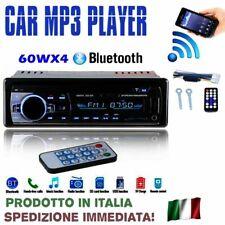 Autoradio con USB Bluetooth vivavoce ingresso AUX Radio FM Lettore MP3 WMA Auto