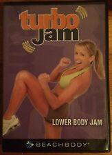 Turbo Jam: Lower Body Jam (Dvd, 2005)