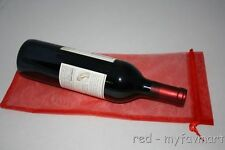 "10 Red Wine Organza Pouch Gift Bag 6""x14"""