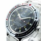 Vostok Amphibian New 420270/ 2416b Russian Military Divers Automatic Mens Watch