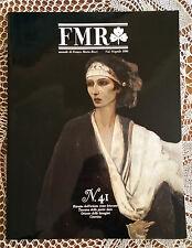 Rivista d'arte FMR (mensile di Franco Maria Ricci - n°41   1986   1/16