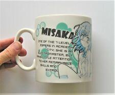 Misaka Mikoto Index Anime/Manga Mug (A Certain Magical Index)