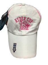 More details for rare 2012 ryder cup miracle of medinah baesball cap ladies white golf kate lord