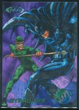1995 Batman Forever Metal Trading Card #87 Stand-Off