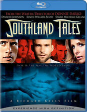 Southland Tales Dwayne Johnson Sarah Michelle Gellar Sean William Scott Blu-ray