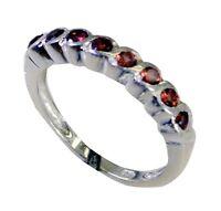 goodly Granat 925 Sterlingsilber-roten Ring jaipur l-1.5 de