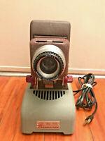 "Vintage MC Delineascope Projector 2 x 2 Slide Film American Optical Company 3.5"""
