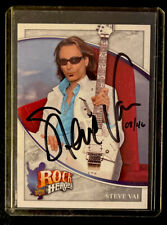 Steve Vai Rare Autographed Signed Rock Heroes * Only 46 Made! Signed & Numbered