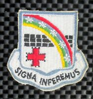 """SIGNA INFEREMUS EMBROIDERED SEW ON PATCH 2 3/4"""" x 2 1/2"""""""