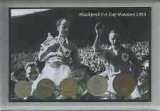 Blackpool Vintage F.A Cup Winners The Stanley Matthews Final Coin Gift Set 1953