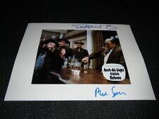 Bud Spencer & Riccardo Pizzuti Signed Autographs on 20x28 cm Photo InPerson RARE