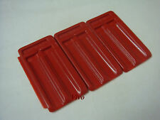 Top Cover Tiles - Red Colour - 10 nos - Aquarium Fish Tank - you2buy