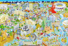 Gibson London from Above Jigsaw Puzzle - 500 pieces (Gibsons)