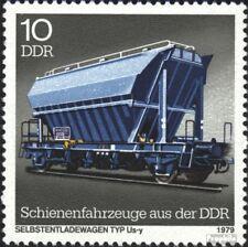 DDR 2415I, B in SELBSTENTLADEWAGEN gebroken gestempeld 1979 Railway