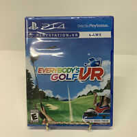 Everybody's Golf VR PlayStation 4 Ps4 Brand New Factory Sealed Free Shipping