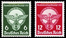 EBS Germany 1939 Reich Professional Championships Michel 689-690 MH*