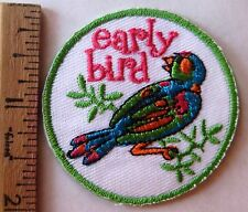 Girl Scout 2010 EARLY BIRD PATCH Cookie Sale Selling Spring Registration UNDATED