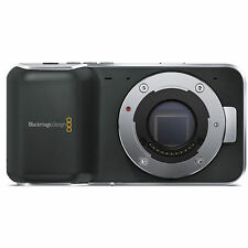 SEALED Blackmagic Design Pocket Cinema Camera Micro Four Thirds Mount + SD Card!