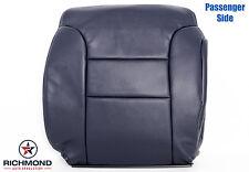 1995 1996 GMC Sierra C/K C1500 K1500 PASSENGER Lean Back Leather Seat Cover Blue