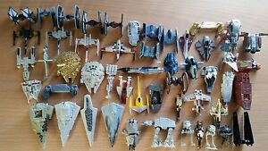 Star Wars Micro Machines Ship Collection Star Destroyer X-wing Tie Fighter AT-AT