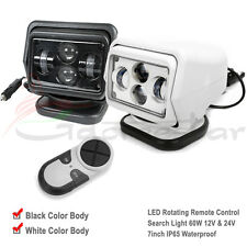 CREE LED Remote Control Searching Work Light Spot Wireless 60W 12V For Boat  x1