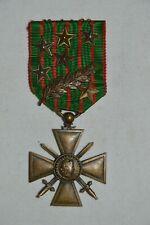 CROIX DE GUERRE 1914/1916-7 CITATIONS.FRENCH WAR CROSS 1914/1916-GUERRE 1914/18