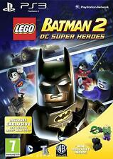 LEGO Batman 2: DC Super Heroes + Lex Luthor LEGO Mini Toy (PS3 Game) *VGC*