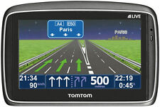 TomTom GO 750 EUROPA 45 L. HD-Traffic IQ 12 Monate LIVE mit Alternativen Hâlter!