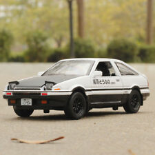 1:28 Diecast Model Car Toy Initial D Toyota TRUENO AE86 Sound&Light Collection
