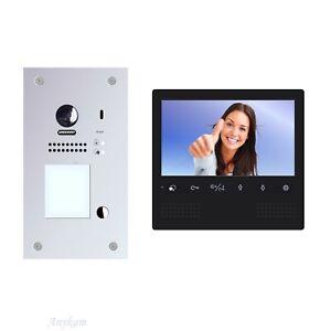 Video Türsprechanlage 2 Draht Gegensprechanlage RFID Card Kamera DT607F-S1 DT27B