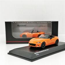 Kyosho 1:64 Mazda Roadster RS 2019 Orange Die-cast Model Car