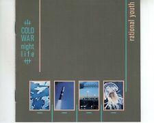 CD RATIONAL YOUTHcold war night lifeEX+ CANADA (B3402)
