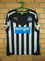 Newcastle United Jersey 2014 2015 Home SMALL Shirt Puma Football Soccer Trikot