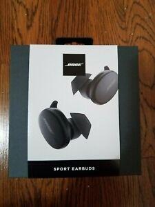Bose Sport Earbuds Color Black In Original Package
