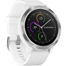 Garmin Vivoactive 3 GPS Smartwatch HRM Heart Rate Monitor Steel Bezel White