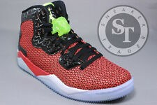 AIR JORDAN SPIKE FORTY 40 819952-605 IN HAND GHOST GREEN UNIVERSITY RED SZ: 13