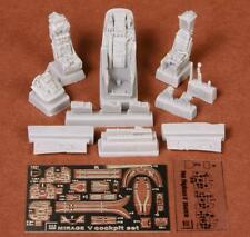 S.B.S Models, 1:48, 48051, Mirage 5 cockpit set for Kinetic kit