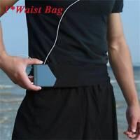 Men Women Running Phone Bag Pouch Jogging Belt Race Marathon Cycling Waist Bag