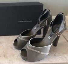Alberto Fermani Ankle Strap Peep Toe Sandals Size 39/38.5 NIB $395
