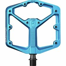 Crank Brothers STAMP 3 Pedals for MTB Mountain Bike - SMALL BLUE - NEW