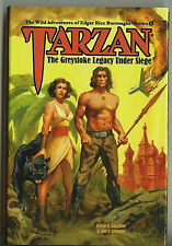 TARZAN: GREYSTOKE LEGACY UNDER SEIGE • Wild Adventures of ERB #4 • HC • 2017