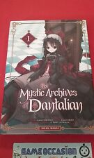 THE MYSTIC ARCHIVES OF DANTALIAN TOME N.1 SOLEIL BD LIVRE  MANGAS VF