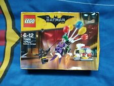 LEGO The Joker Balloon Escape The Batman Movie NEW SEALED 70900 Retired Damaged
