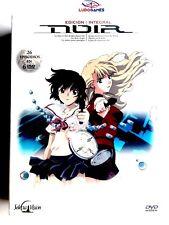 Noir Anime DVD Edicion Integral+Extras Descatalogada New Sealed Precintado Nuevo