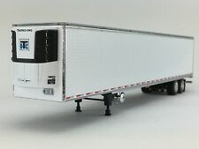 1/64 DCP WHITE 53' UTILITY 3000R TRAILER W/ THERMO KING REEFER