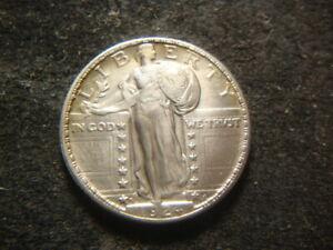 1924-D  AU BU Standing Liberty Quarter Nice Coin MVX