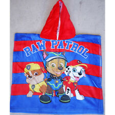 Kids Children Boys Hooded Hoodie Paw patrol Bath Beach Towel Poncho 100% Cotton