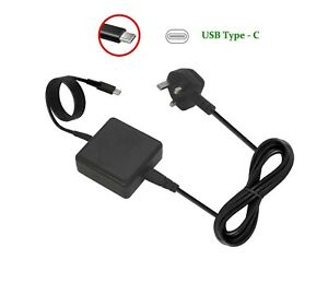 45W USB Type-C Laptop Charger AC Adapter for Asus Chromebook C101PA C101P