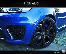"22"" Gloss Black Alloy Wheels barugzai Range Rover Sport L494 5X120 ET40 2014+"